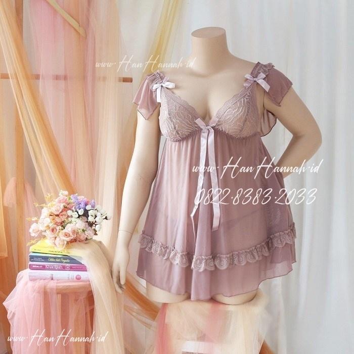 Premium L-XXXL, AYESHA Sexy Sleepwear Set