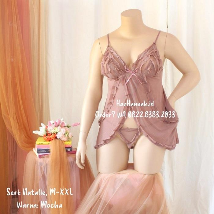 Premium M-XXL, NATALIE Sleepwear Set