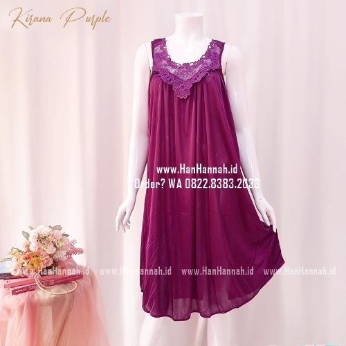 Silk Sleepwear M-XXL KIRANA Purple Sleepwear