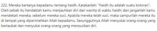 "rich result on google's SERP when searching ""doa mandi junub setelah berhubungan suami istri bahasa arab"""