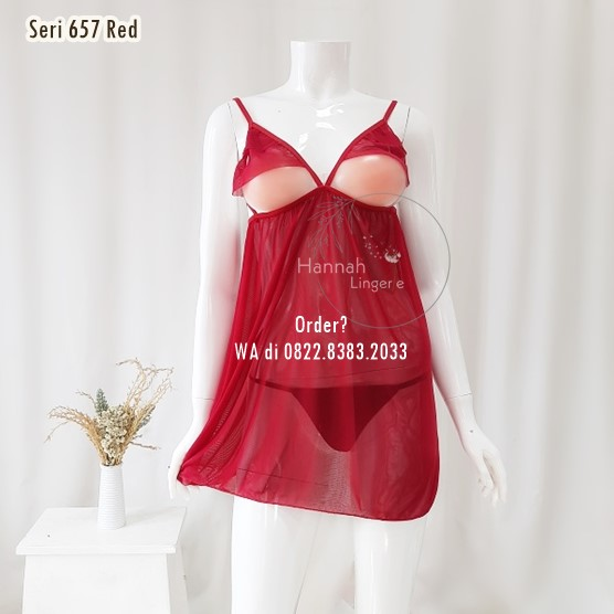 [BISA COD] Sexy Lingerie Kode: 657 Red