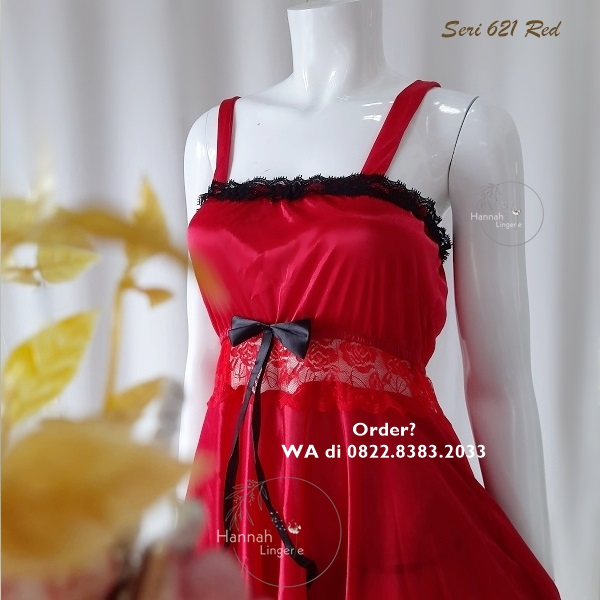[BISA COD] Sexy Lingerie Kode: 621 Red